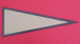 12x30 black wood pennant frame - $50.00