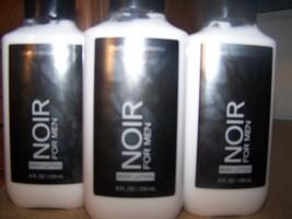 Lot of 3 Bath & Body Works Noir For Men Body Lotion 8 fl oz  - $24.85