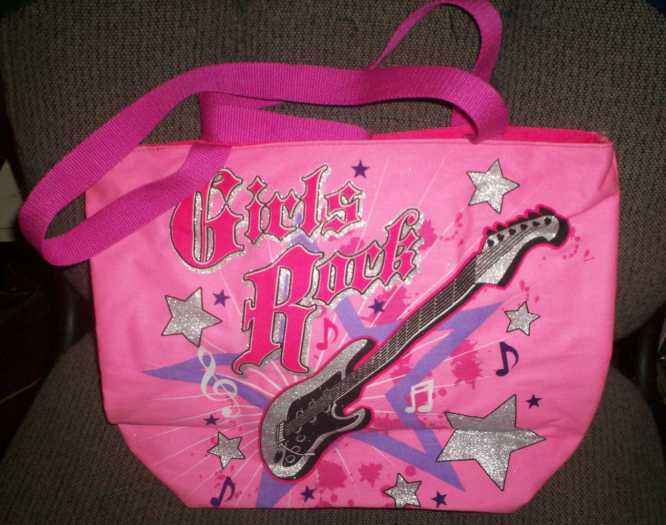 Primary image for NEW Girls/Women's Large Girl's Rock Tote Purse-