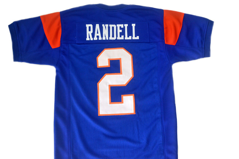Radon Randell #2 Blue Mountain State Movie Football Jersey Blue Any Size