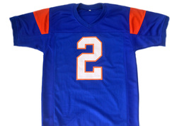 Radon Randell #2 Blue Mountain State Movie Football Jersey Blue Any Size image 5