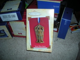 NEW HALLMARK THOSE WHO SERVE CHRISTMAS ORNANMENT 2004 - $10.00