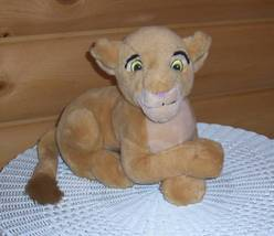"Disney Lion King Plush 14"" Peaceful Young Nala Sits Waiting for Simba - $7.95"