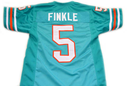 Ray Finkle #5 Ace Ventura Movie New Men Football Jersey Teal Green Any Size