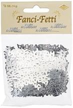 Happy Anniversary Fanci-Fetti (silver) Party Accessory  (1 count) (.5 Oz... - $3.57