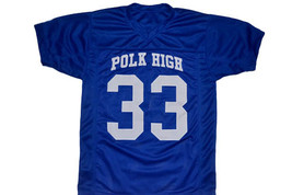 Al Bundy #33 Polk High Married With Children Movie Football Jersey Blue Any Size image 4