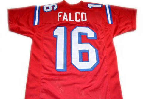 Shane Falco #16 The Replacement Movie Football Jersey Red Any Size
