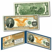 1882 Series Alexander Hamilton $1000 Gold Certificate designed on a Real... - $13.98