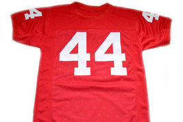 Forrest Gump #44 Movie Men Football Jersey Red Any Size image 5