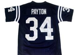 Walter Payton #34 Jackson State Football Jersey Navy Blue Any Size image 4