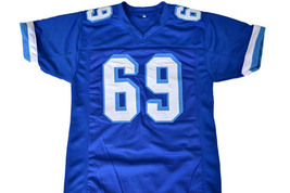 Billy Bob #69 Varsity Blues Movie Football Jersey Blue Any Size image 2