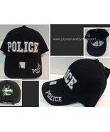 Police Officer Law Enforcement Cop Baseball Cap Hat Black Adult Size - $10.99