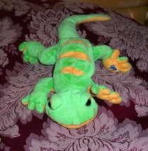 "Webkinz Lemon Lime Gecko Plush 11"" Play Pal Wants Home - $3.33"