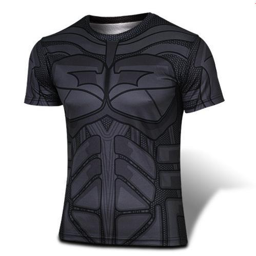 Used, Cosplay Theme Party Ideas,Justice League Super Hero Batman Mens Shirt Costume for sale  USA
