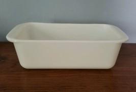 Vintage Pyrex Opal Loaf Pan Rectangular  #213  White 1.5 Quarts - $14.84
