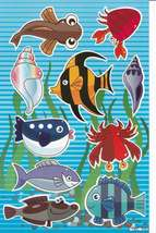 D399 Fish Dolphin Aquarium Whale Sticker Decal Kids Size 27x18 cm / 10x7... - $2.49