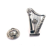 Harp Design pin badge lapel Badge / tie pin, Lapel Pin Badge, boxed
