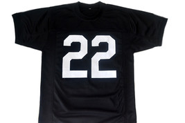 Mean Machine #22 Longest Yard Movie Men Football Jersey Black Any Size image 5