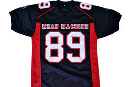 Cheeseburger #89 Mean Machine Longest Yard Movie Football Jersey Black Any Size image 2