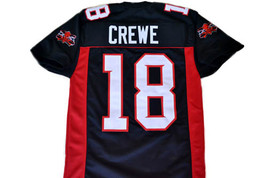 Paul Crewe #18 Mean Machine Longest Yard Movie Football Jersey Black Any Size image 1