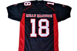 Paul Crewe #18 Mean Machine Longest Yard Movie Football Jersey Black Any Size image 5