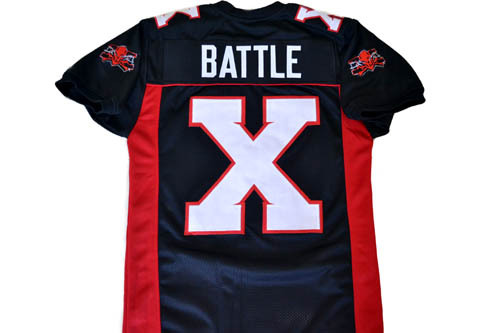 Battle X Mean Machine Longest Yard Movie Football Jersey Black Any Size