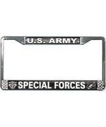 ARMY SPECIAL FORCES CHROME CAR LICENSE PLATE FRAME - $27.07