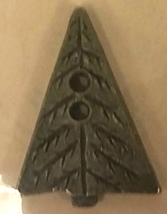 Tree Olde Brass Button cross stitch accessory Homespun Elegance   - $3.00