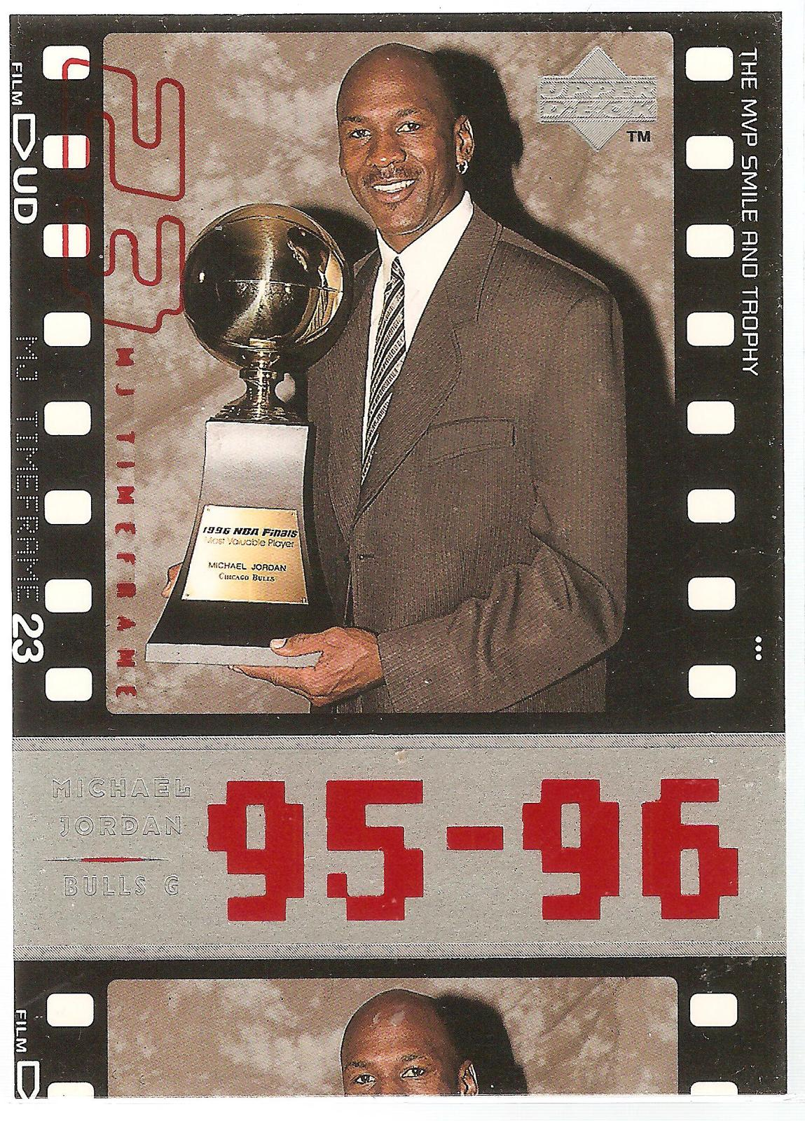Michael Jordan Upper Deck 1998 #93 MJ Timeframe Chicago Bulls Washington Wizards
