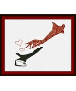 Incontro di Mani (Meeting of the Hands) cross stitch chart Alessandra Ad... - $16.20