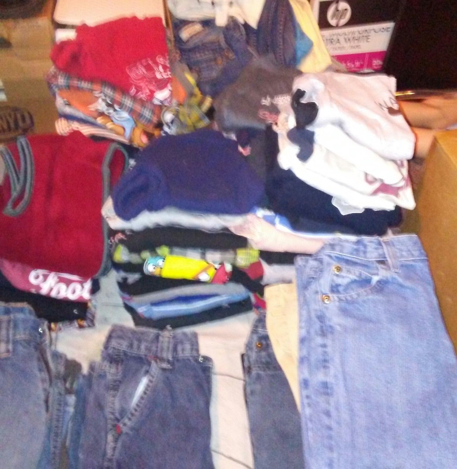 HUGE Boys Size 2T Mixed Lot Winter Clothes Gap Gymboree TCP Crazy 8+