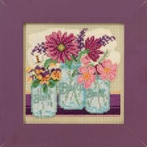 Cut Flowers Spring Mill Hill 2016 Button and Bead kit Mill Hill  - $12.60