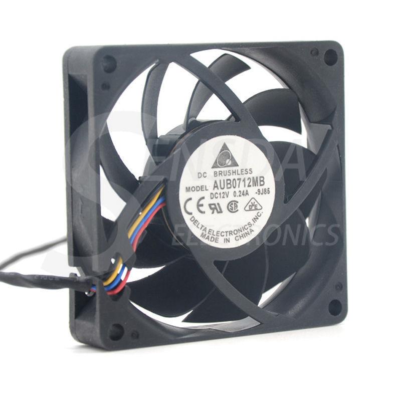 for AVC DS07025T12U 7025 70 x 70 x 25mm PWM 12V 0.7A 4Pin CPU Cooler Cooling Fan