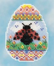 Ladybug Egg Spring Bouquet Collection 2016 seasonal ornament kit Mill Hill - $6.30