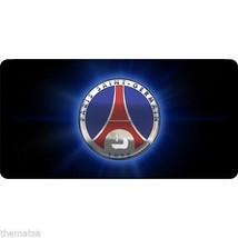 Paris Saint Germain Soccer Club Metal License Plate Usa Made - $27.07