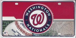 WASHINGTON NATIONAL  LOGO  MLB  BASEBALL METAL ... - $28.49