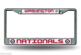 WASHINGTON NATIONALS  MLB USA MADE CHROME LICEN... - $28.49