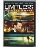 Lmitless (DVD) UNRATED EXTENDED VERSION Bradley Cooper Robert de Niro - ... - $5.95