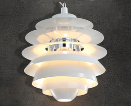 Modern White Snowball Ceiling Light Pendant Lam... - $99.00