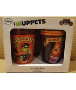 MUPPETS Miss Piggy & Kermit the Frog - Glass Tu... - $27.72