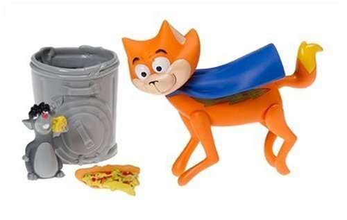 Krypto the Superdog Talking Streaky The Cat Playset