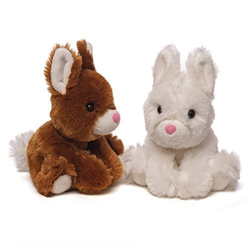 Gund Fluffers Teacup Bunny - Brown [Toy]
