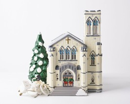 Department 56 Snow Village Cathedral Church Light Up Christmas Holiday 5... - $39.59