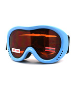 Small Size Adults Junior Ski Snowboard Goggles Anti Fog Double Lens - $20.95