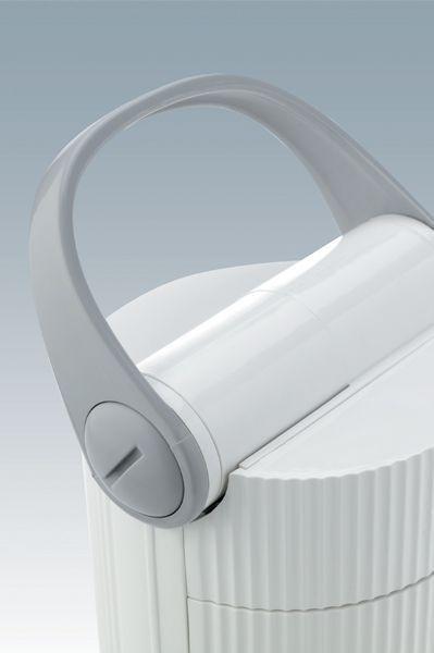 Daylight Twist Portable Lamp White U33700 DISCOUNTED Daylight Company