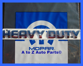 New 2005 Up Dodge Ram Cummins Heavy Duty Chrome Tailgate Emblem / Oem Mopar - $49.95