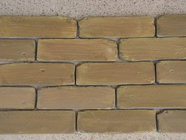 8x2 Antique Brick Side Molds (30) Make Brick Veneer For Walls Floors For... - $113.99