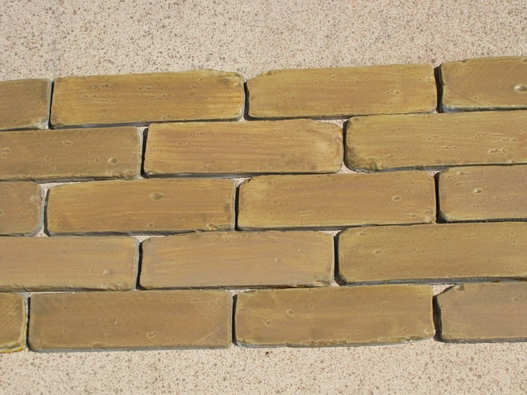 8x2 Antique Brick Side Molds (30) Make Brick Veneer For Walls Floors For Pennies