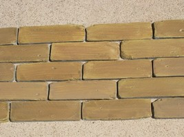 8x2 Antique Brick Side Molds (30) Make Brick Veneer For Walls Floors For Pennies image 2