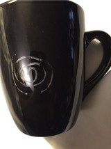 Black Coffee Cup With M M In Design - $19.99